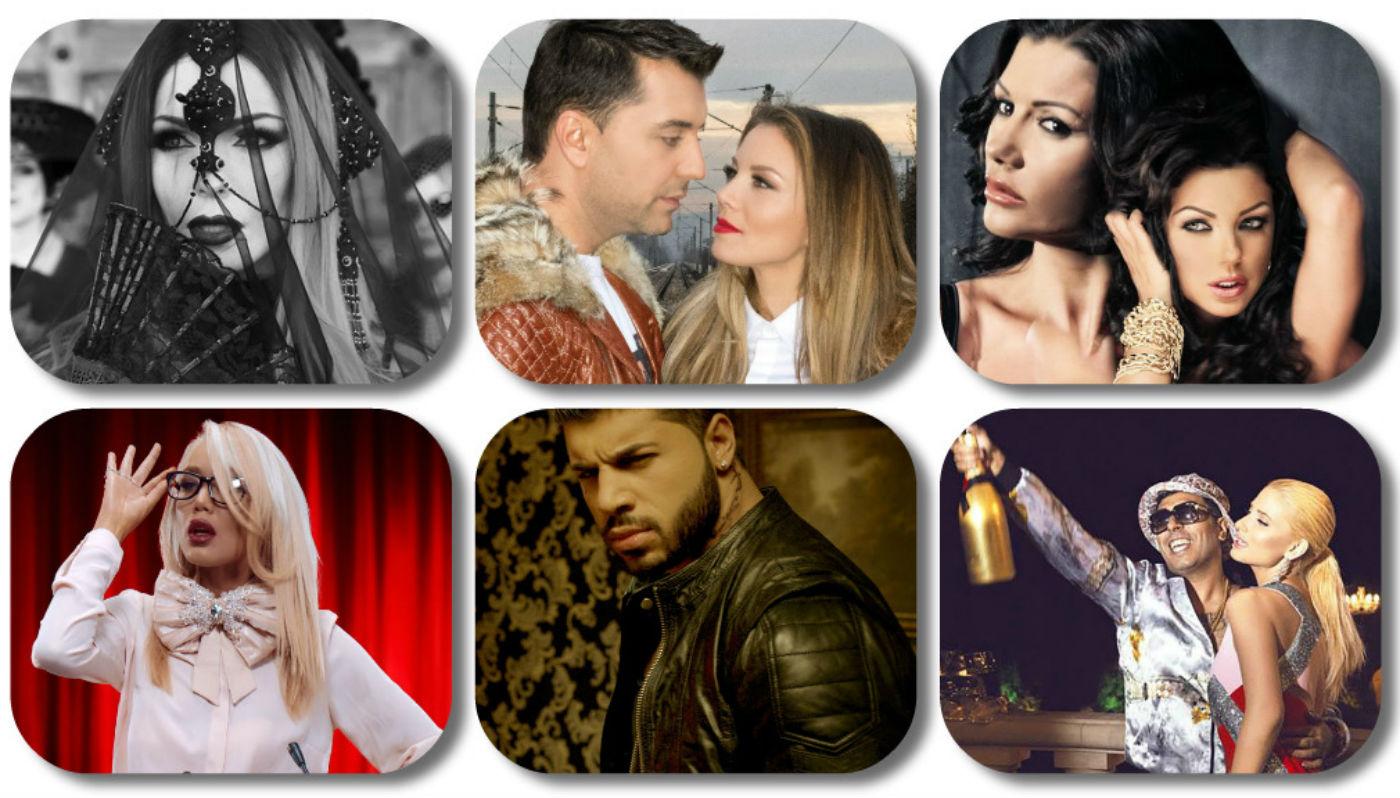 Шест са номинациите за най-добрите актьори сред певците