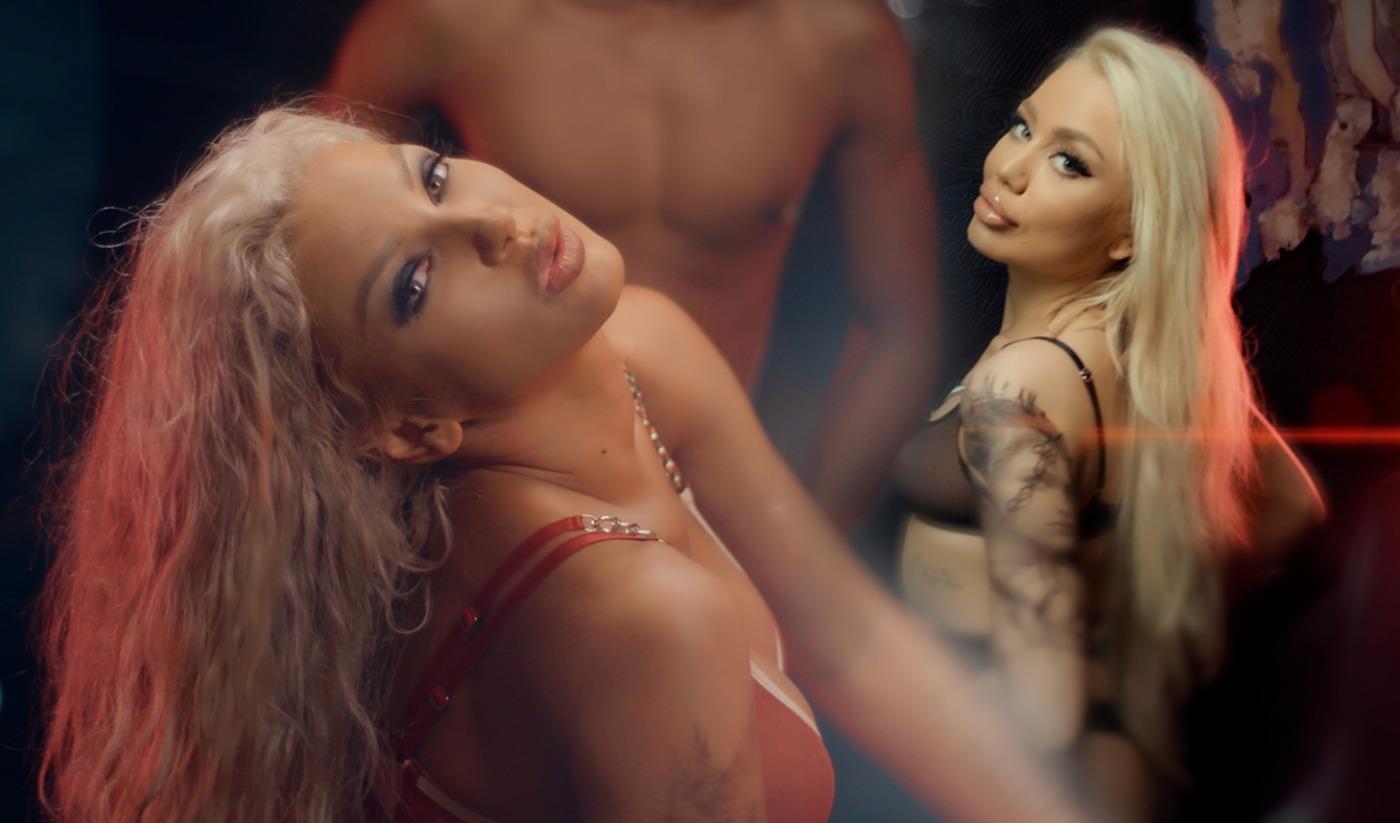 """Теди Александрова и Емануела като горещи изкусителки в """"Дърпай я"""""""