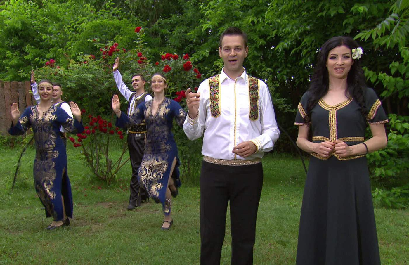 Ангелина Милева и Здравко Мандаджиев се събраха в дует