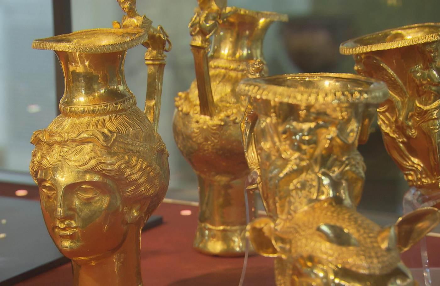 Панагюрското златно съкровище отблизо