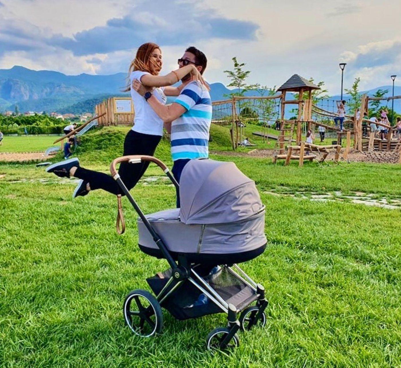 Биляна от Трио Сопрано показа бебето