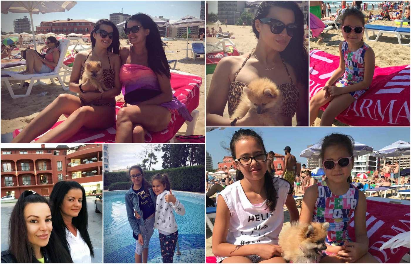 Димана и Габриела на ваканция в Слънчев бряг