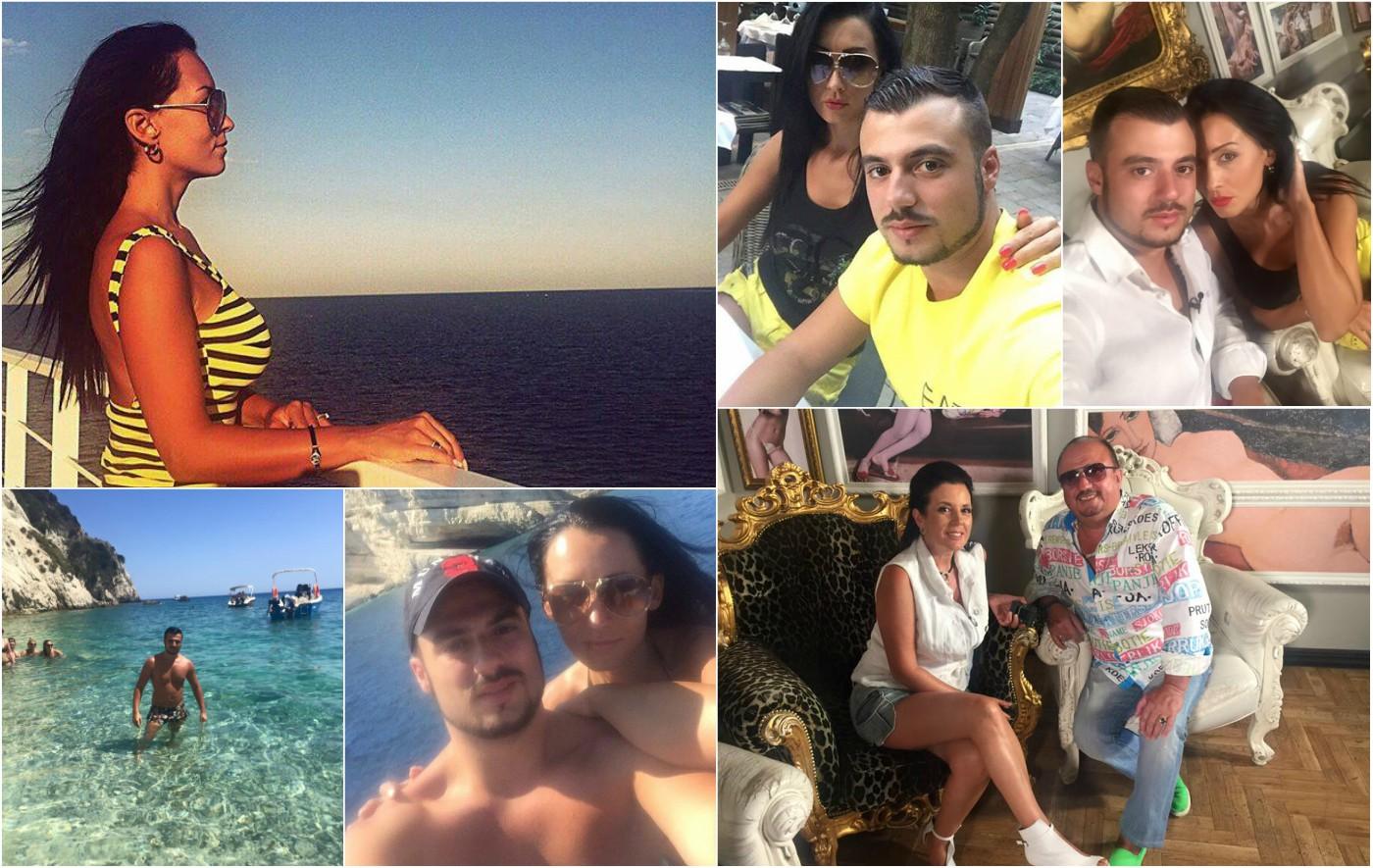 Романтично лято за семейство Стоеви в Гърция