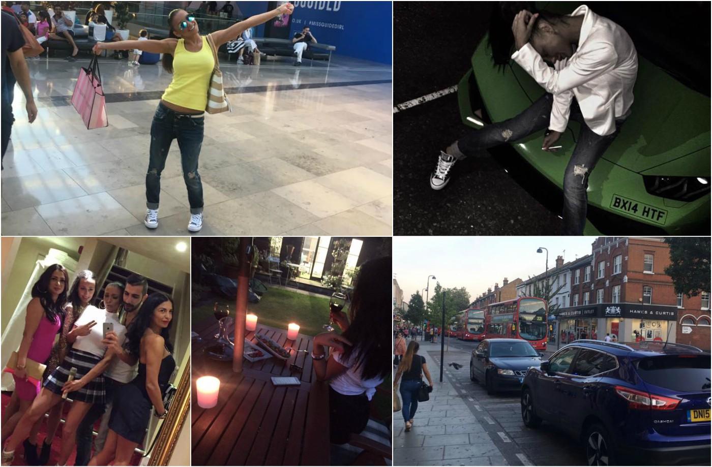Емануела разгорещи страстите в Лондон