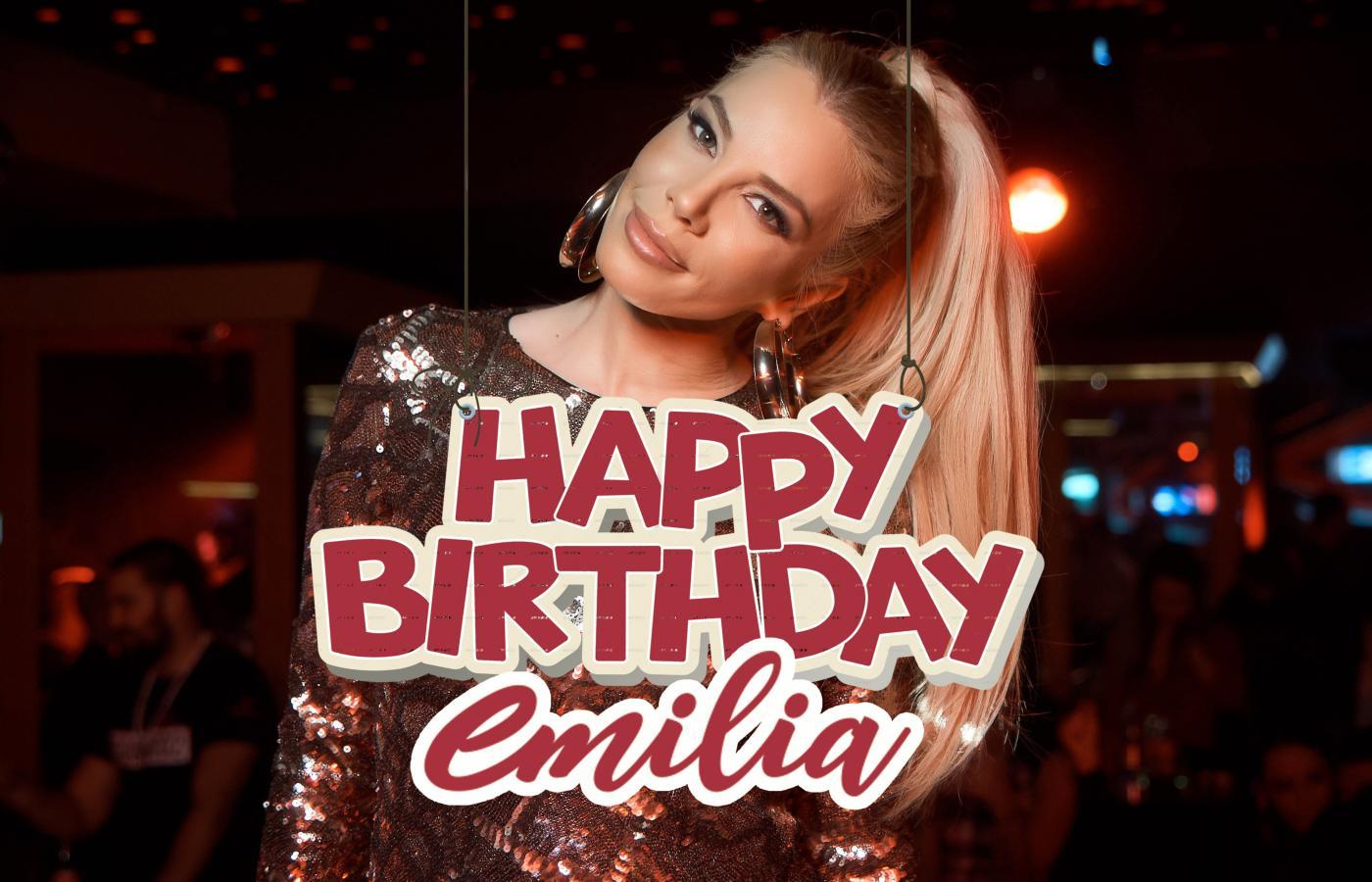 Емилия снима клип за рождения си ден