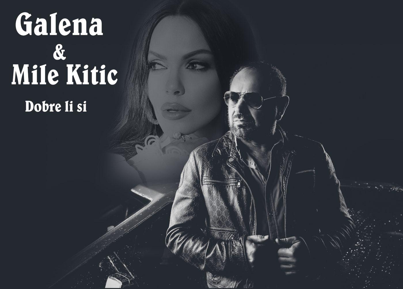 Галена и Миле Китич начело в YouTube