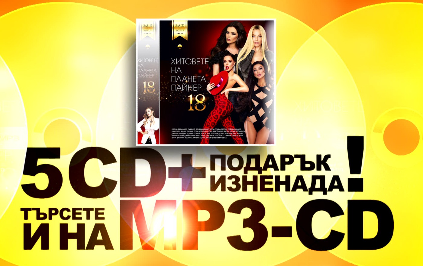 """""""Хитовете на Планета Пайнер 18"""" – музикалната библия на 2019"""