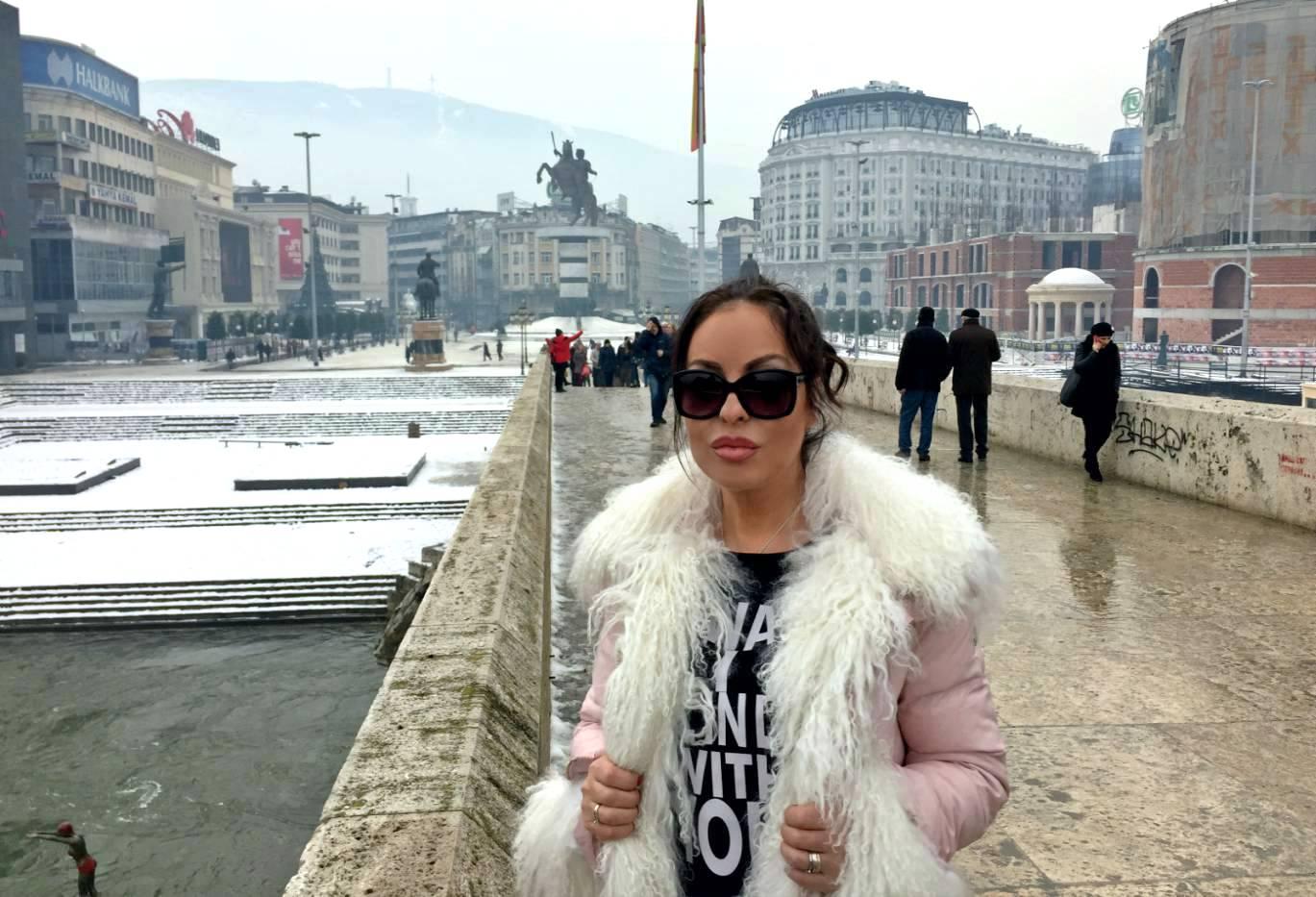Скопие посрещна Ивана като истинска голяма звезда