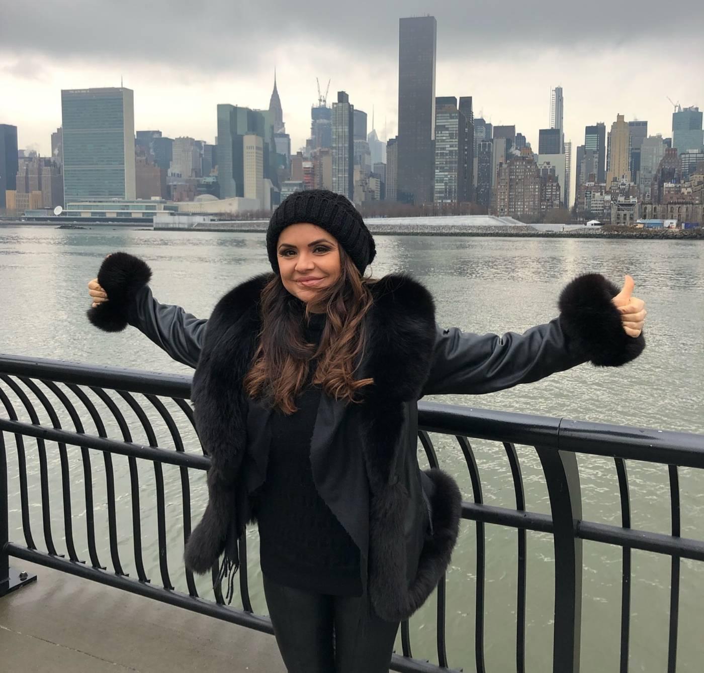 Ивелина Колева посреща рождения си ден в САЩ