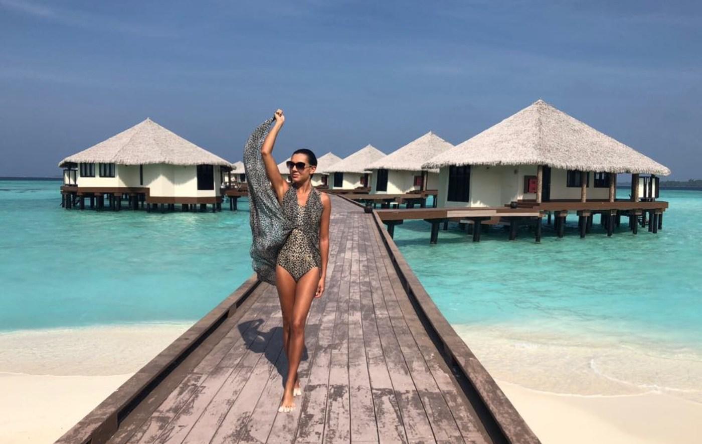 Миглена Динева се сгоди на Малдивите