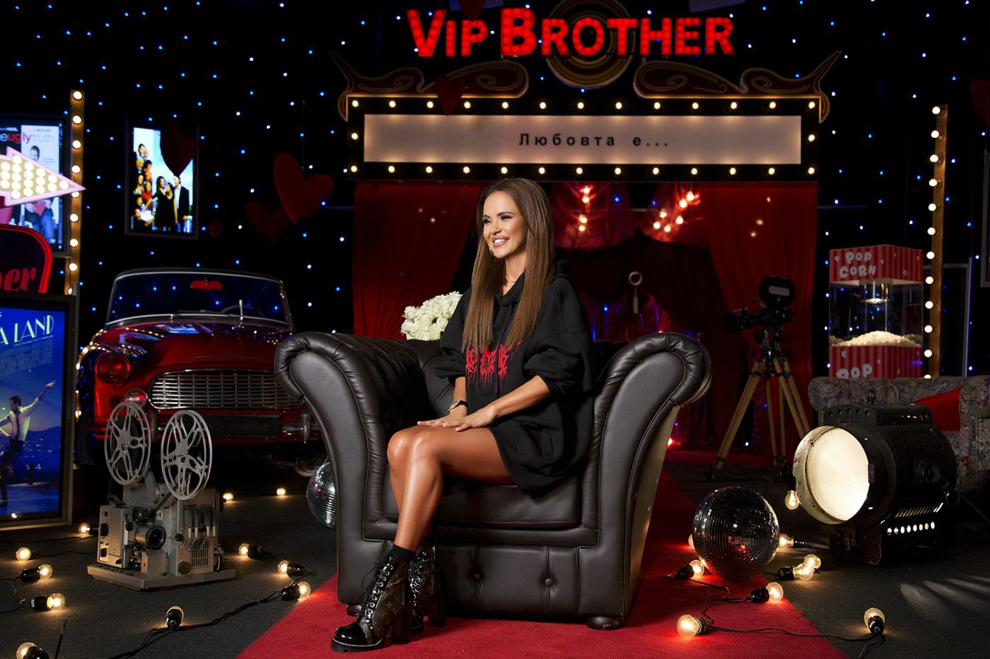 Мария – част от най-любовния VIP Brother
