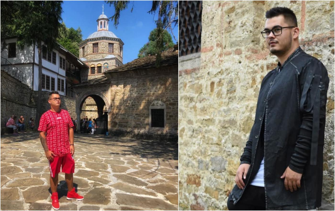 Радко Петков в Троянския манастир на Голяма Богородица