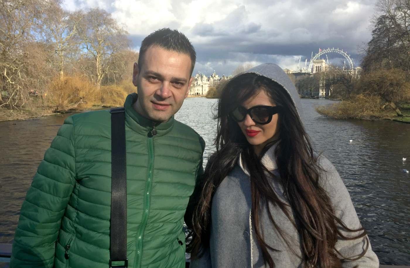 Райна и Здравко: Щастливи сме, че зарадвахме българите в Лондон