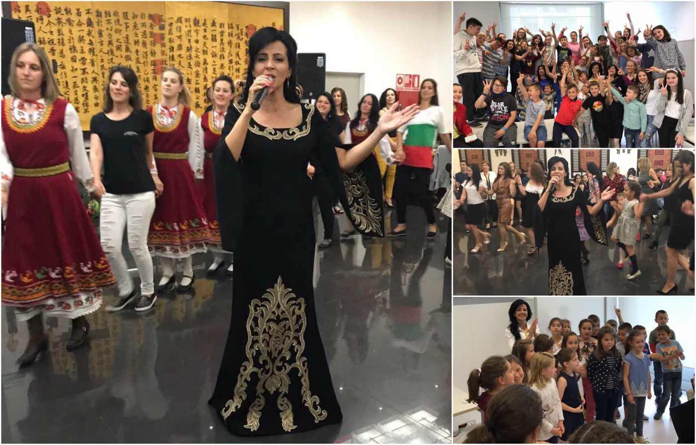 Росица Пейчева пренесе българския дух в Памплона
