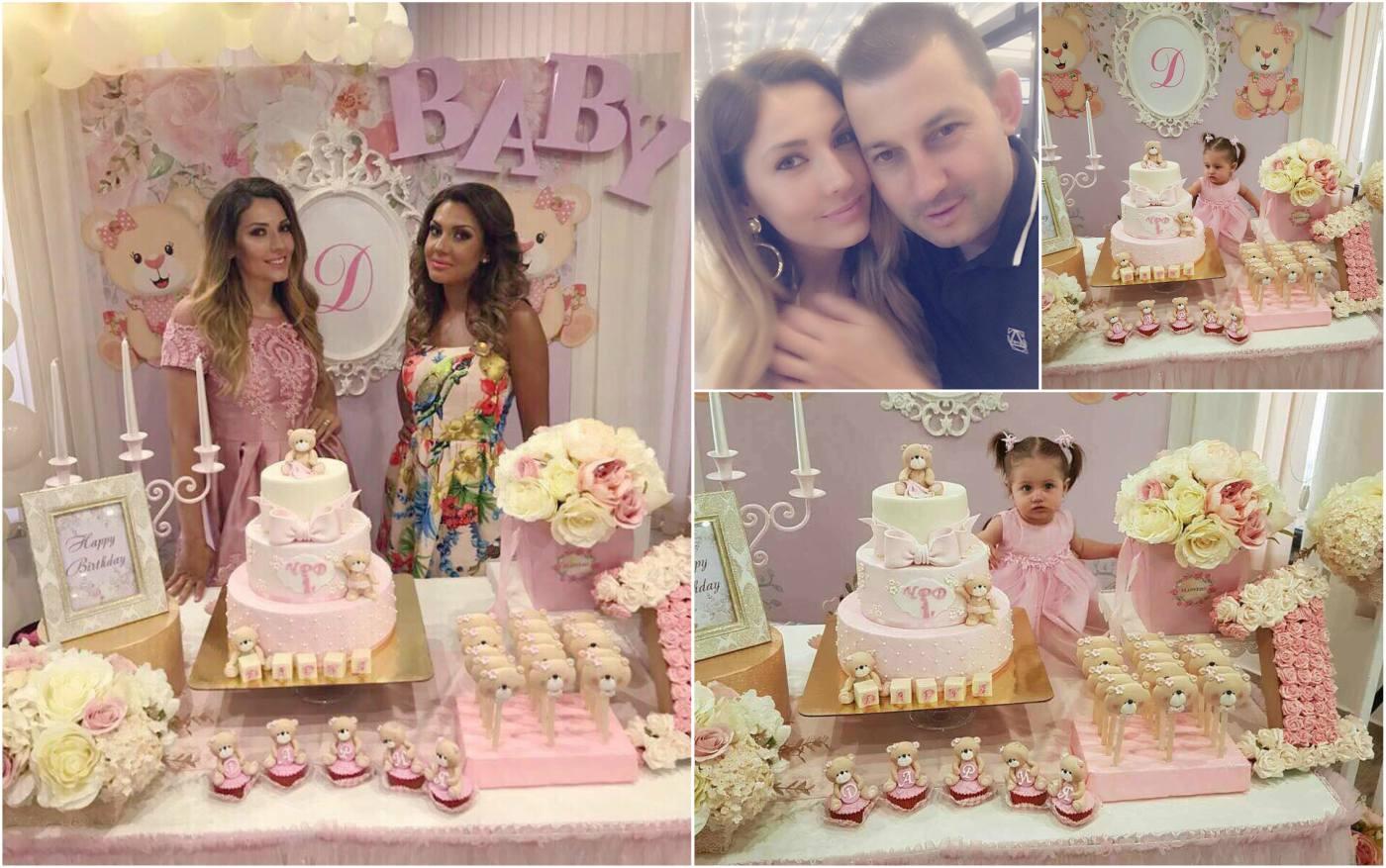 Диляна Динева с приказен рожден ден за Дария