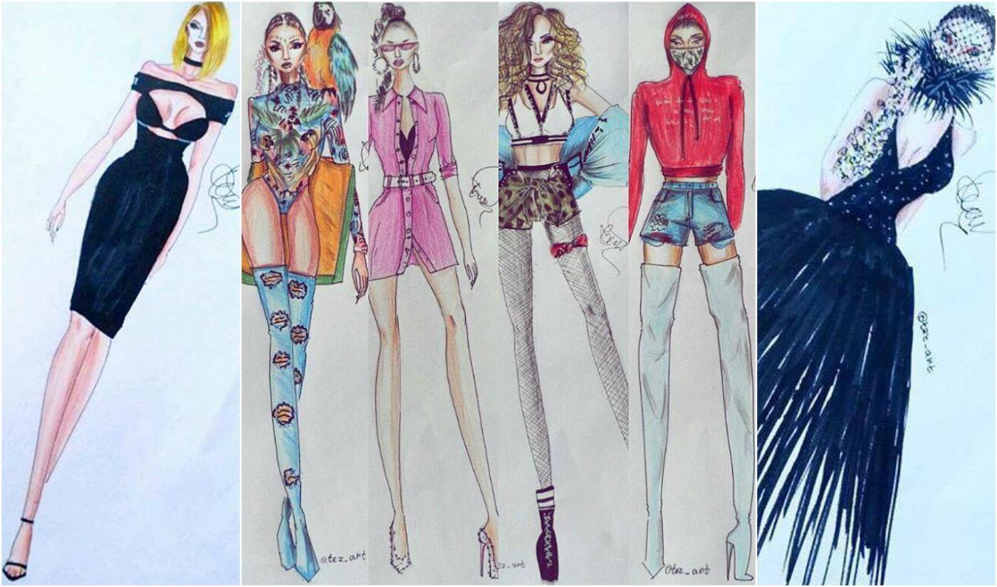 """Звездите на """"Планета"""" оживяват в модни скици"""