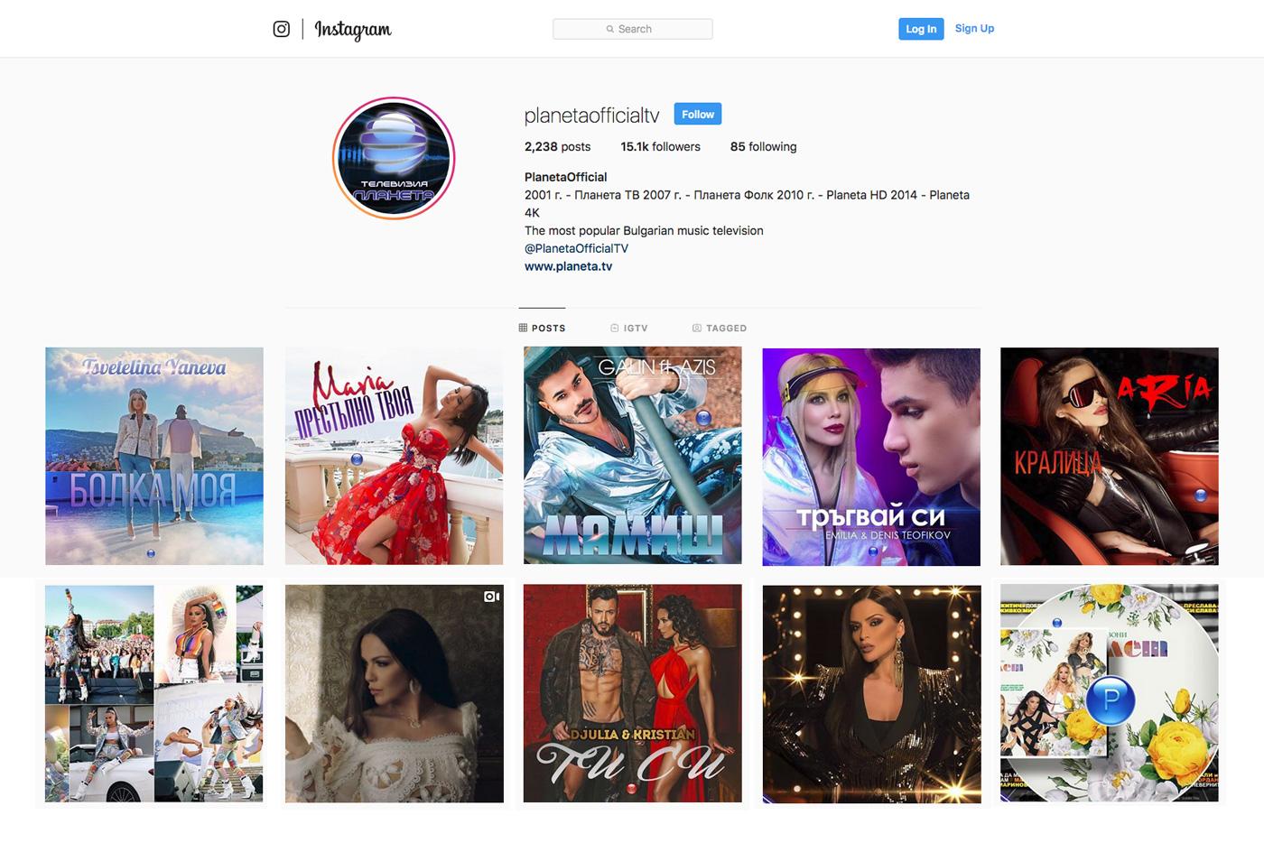 """PlanetaOfficial е новото лице на телевизия """"Планета"""" в Instagram"""